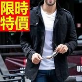 軍裝外套-韓版修身時尚立領男外套2色62o16【巴黎精品】