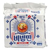 韓國 Paldo 八道 35週年特定版酷辣乾拌麵 (130gX5)【庫奇小舖】
