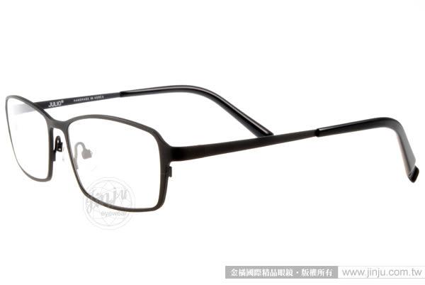 JULIO 光學眼鏡 STUTTGART BLK (霧黑) 極致輕薄完美工藝 # 金橘眼鏡