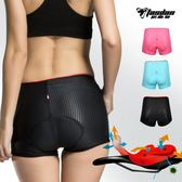 騎行內褲女款硅膠加厚山地自行單車騎行褲短褲騎行服裝備套裝夏季