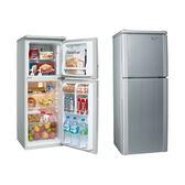 【SAMPO聲寶】140L雙門冰箱SR-A14Q (R8/S6)典雅銀