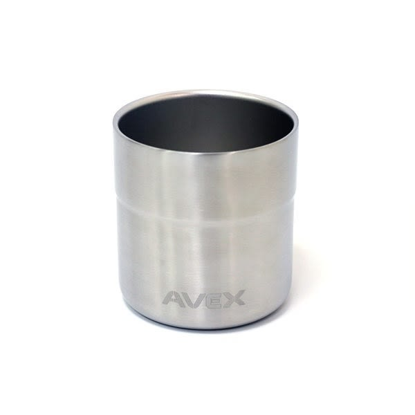 AVEX Sundowner 不鏽鋼保溫杯 400ml / 城市綠洲 (304不鏽鋼、長效保冷、杯底橡膠墊)