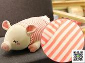 豬抱枕毛絨玩具搞怪玩偶公仔娃娃可愛睡覺抱女孩女生超萌懶人韓國  聖誕慶免運