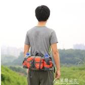 腰包-火杰戶外腰包多功能旅行裝備男女款登山運動旅游水壺騎行背包防水 花間公主