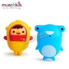 munchkin 噴水洗澡玩具2入(可拆洗)潛水員/鯊魚[衛立兒生活館]