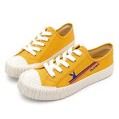 PLAYBOY 夏日波光 彩色條紋餅乾鞋-黃(Y6203)