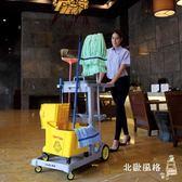 超寶多功能清潔手推車布草物業商場酒店賓館客房保潔車服務清包車xw
