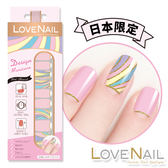 【LOVE NAIL】持久指甲油貼-日本限量(粉紅煙火Pink Fire Works)
