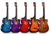 吉它吉他41寸木吉他初學者38寸入門學生40寸練習男女生39寸吉它樂器  提拉米蘇