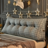 床頭靠墊三角雙人沙發大靠背韓版軟包 cf