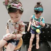 YAHOO618◮新春新品▶女童創意印花T恤 兒童短袖上衣時尚打底衫韓版童裝1212 韓趣優品☌