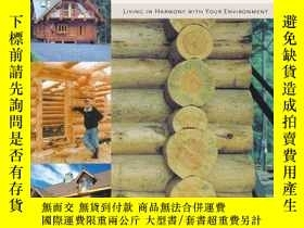 二手書博民逛書店The罕見Owner-Built Log House: Livi