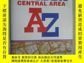 二手書博民逛書店LONDON罕見CENTRAL AREA(Geographers