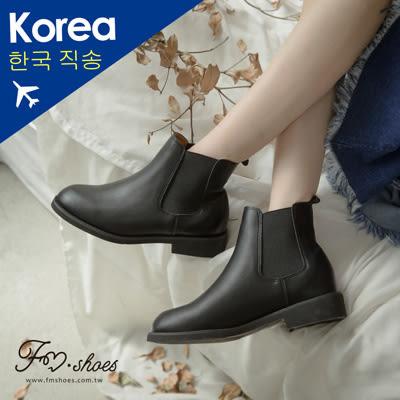 靴.低跟卻爾西短靴-FM時尚美鞋-韓國精選.BRISK