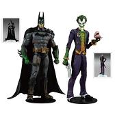 dc 麥法蘭 DC MULTIVERSE 7吋 蝙蝠俠阿卡漢瘋人院 GREEN GOO 蝙蝠俠&小丑 2入組