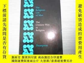 二手書博民逛書店The罕見Chinese Way in Religion Tho