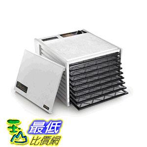[104美國直購] Excalibur 3900W Excalibur 3900W 9 Tray Deluxe Dehydrator White and black