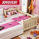 兒童床 實木兒童床鬆木帶小床單人床男孩女孩公主床小孩床加寬拼接床T