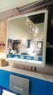 【麗室衛浴】精緻ABS  一體成型  塑鋼材質  多功能置物化妝鏡 尺寸:高61*寬55CM