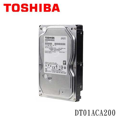 Toshiba 2TB  (DT01ACA200) /64MB/7200轉/三年保固