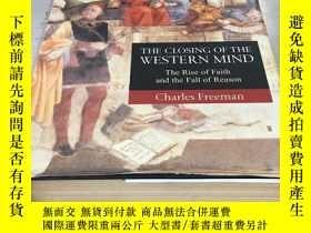二手書博民逛書店The罕見closing of western mind history of western thought t