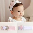 兒童星星髮帶 韓國運動風五角星星寬髮帶 兒童髮飾
