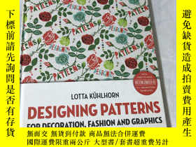 二手書博民逛書店DESIGNING罕見PATTERNS:For Decorati