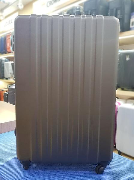 STAM台灣製造 防刮拉鍊輕量 行李箱/旅行箱-29吋(鈦金)