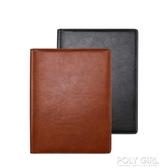 活頁名片冊商務卡本名片本放卡的信用卡包1000張卡片會員卡收納冊收藏冊名片包 polygirl