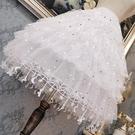 裙撐lolita裙撐洛麗塔長款卡門襯裙暴力日常可調節魚骨撐星星裙撐 盯目家