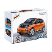 【BanBao 積木】寶馬系列-BMW i3橘 回力車 6802-2