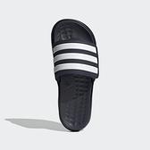 Adidas Duramo Sl Slide [FY6034] 男女鞋 拖鞋 涼鞋 運動 休閒 游泳 舒適 穿搭 黑 白