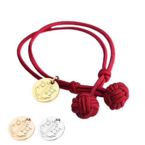 PAUL HEWITT 德國出品 Knotbracelet 繩結手環 金/銀/玫瑰金吊牌 男女皆可配戴
