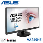 【免運費】ASUS 華碩 VA249HE 24型 VA面板 顯示器 / 不閃屏 低藍光 / VGA+HDMI / 三年保固