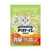 【日本Unicharm】消臭大師一月間消臭綠茶紙砂(2L x 12入)