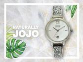 【時間道】NATURALLY JOJO  時尚典雅晶鑽腕錶 / 白貝殼面晶鑽板帶(JO96942-81F)免運費