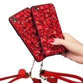 oppor11s手機殼奢華紅色水鉆r11 plus保護套滿鉆大氣女款0ppo硅膠『櫻花小屋』