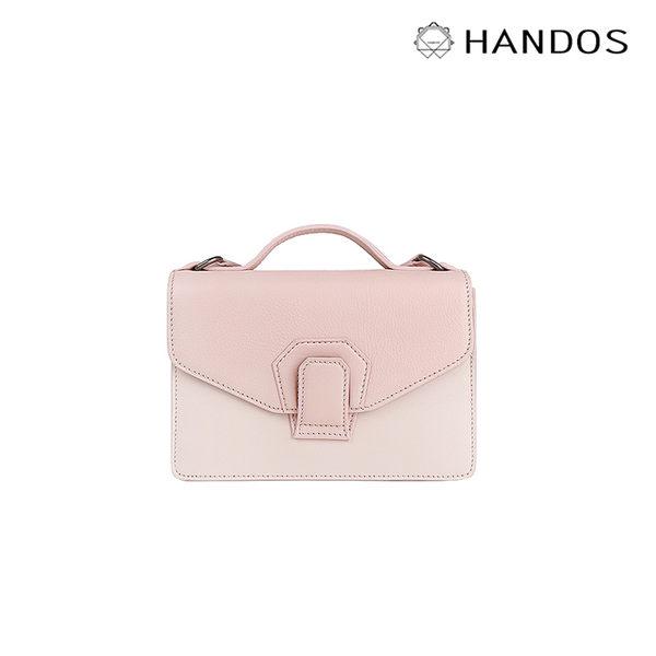 HANDOS|Harmonica 迷你風琴肩背包 - 奶油粉 ↘5折價