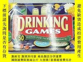 二手書博民逛書店DRINKING罕見GAMES : 50 GAMES FOR T