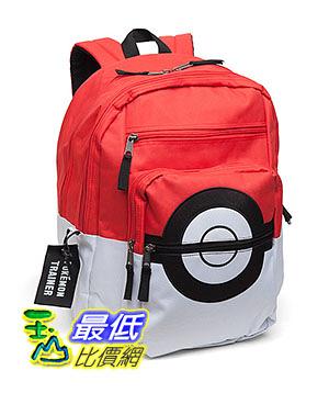 [美國直購] ThinkGeek 背包 Pokemon Poke Ball Backpack 神奇寶貝 精靈寶可夢周邊