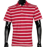 RALPH LAUREN POLO 衫-經典橫紋(紅白)780351-2