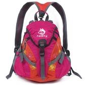 雪橇犬戶外旅行背包三用小型登山包15L女士兒童後背背包騎行背包