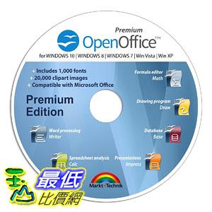 [106美國直購] 2017美國暢銷軟體 Office Suite Special Edition for Windows 10-8-7-Vista-XP