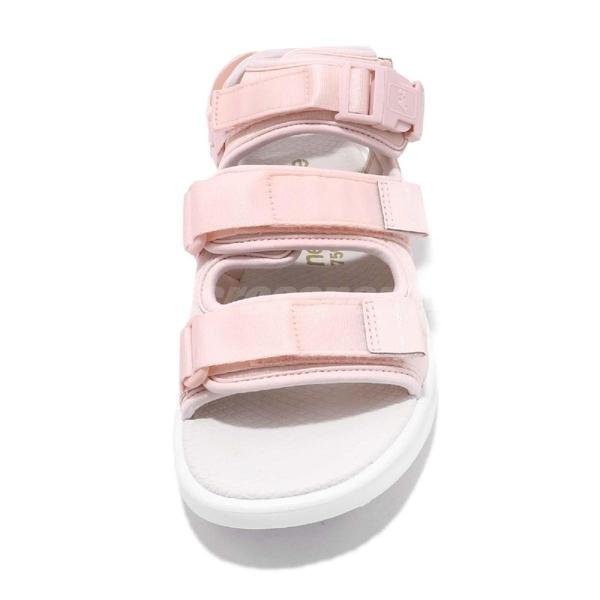 【六折特賣】New Balance 涼鞋 750 NB 粉紅 白 韓系 魔鬼氈 女鞋 涼拖鞋【PUMP306】 SD750PPD