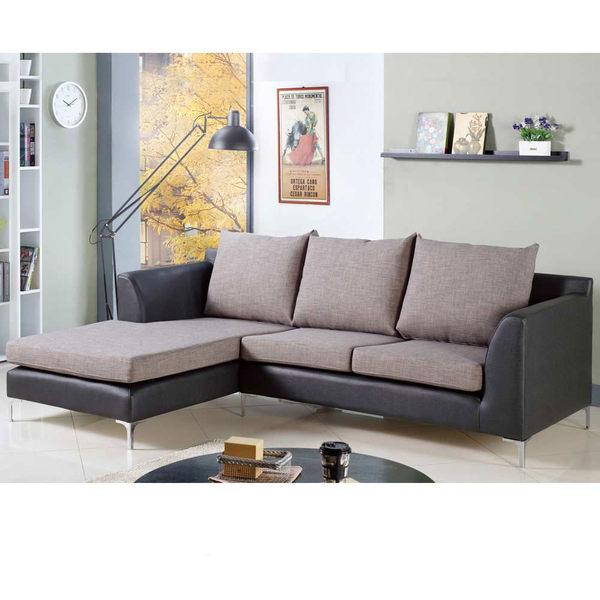 摩根L 型雙色沙發—右L﹝18JF/178-3﹞/ H&D東稻家居