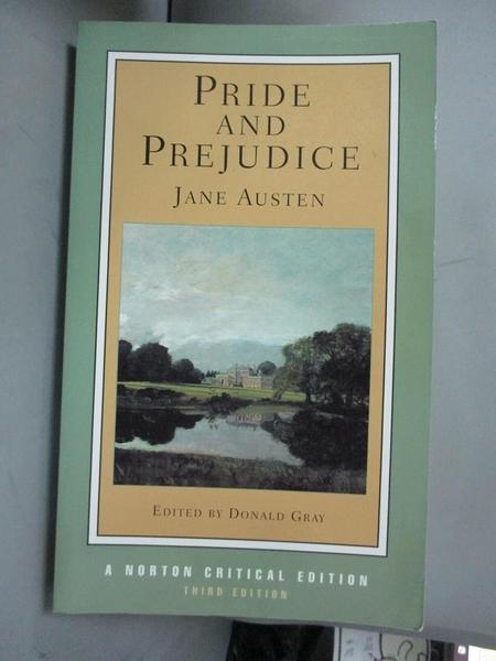 【書寶二手書T3/原文小說_GMD】Pride and Prejudice_Austen, Jane