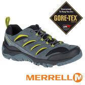 【MERRELL 美國】WHITE 男 GORE-TEX 多功能健行鞋『灰/黑/綠』 09565多功能鞋.登山鞋