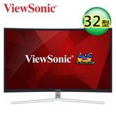 ViewSonic 優派 XG3202-C 32型 VA曲面電競螢幕【買再送炫彩野餐杯3入】