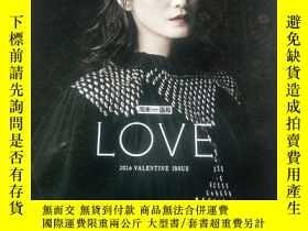 二手書博民逛書店週末畫報(LOVE 2016罕見VALENTINE ISSUE
