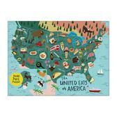 【拼圖總動員 PUZZLE STORY】美國的食物地圖 美國/Abramsandchr/1000P